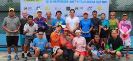 ผลการแข่งขัน  TRUE  ARENA  HUA  HIN  SENIORS TENNIS TOURS  SERIES 2017