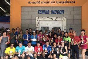 ผลการแข่งขัน AC  TENNIS  INDOOR  OPEN  2018