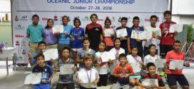 ผลการแข่งขัน OCEANIC JUNIOR CHAMPIONSHIP 2018