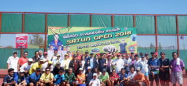 ผลการแข่งขัน SATUN OPEN 2018